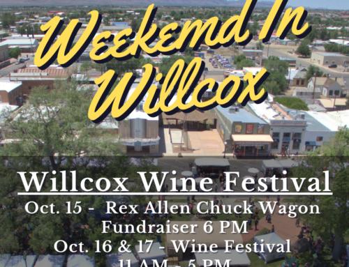 Willcox Wine Festival – Oct 15-17